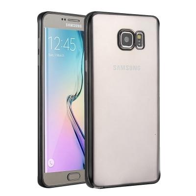 Ochranný flex kryt pre Samsung Galaxy S6 edge plus - Black