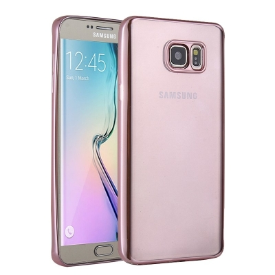 Ochranný flex kryt pre Samsung Galaxy S6 edge plus - Magenta