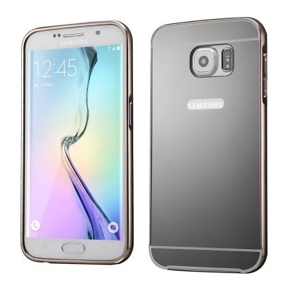 Hliníkový ochranný kryt pre Samsung Galaxy S6 edge plus - black