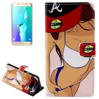 Kožené púzdro pre Samsung Galaxy S6 edge plus - Sexy series