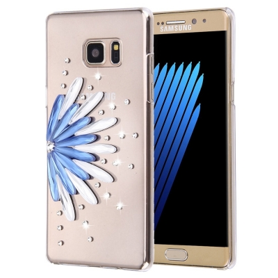 Ochranný kryt s ozdobným motívom pre Samsung Galaxy Note 7 - flower