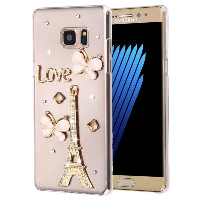 Ochranný kryt s ozdobným motívom pre Samsung Galaxy Note 7 - Encrusted Tower