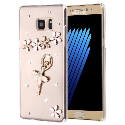 Ochranný kryt s ozdobným motívom pre Samsung Galaxy Note 7 - Dancing Girl