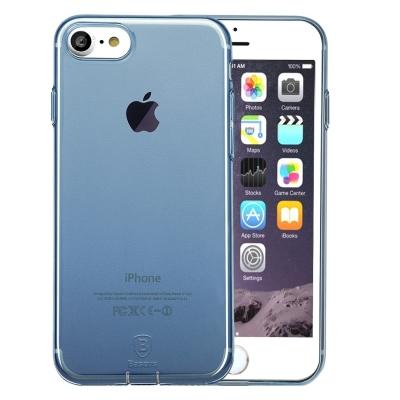 Baseus ultra tenký transparentný kryt pre iPhone 7 - blue