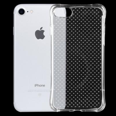 Ultratenké spevnené ochranné púzdro pre iPhone 7 - priesvitné