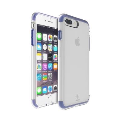 Baseus ochranný kryt s rámom pre iPhone 7 plus - dark blue
