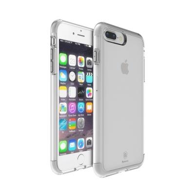Baseus ochranný kryt s rámom pre iPhone 7 plus - grey