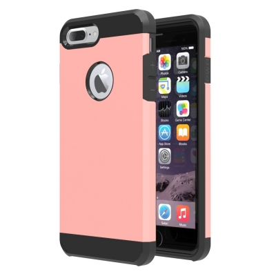 Armor Case pre iPhone 7 plus - Rose gold