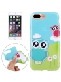 Ochranný kryt pre iPhone 7 plus -  Owl Couple