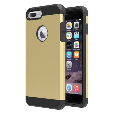 Armor Case pre iPhone 7 plus - gold