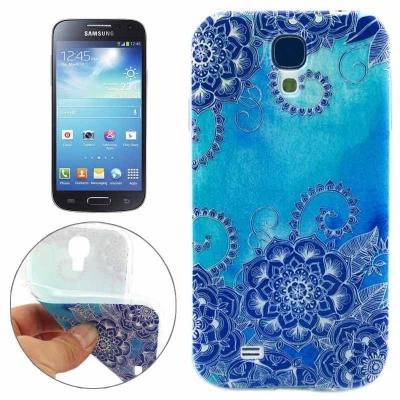 Ochranný kryt pre Samsung Galaxy S 4 / i9500 - Blue flowers