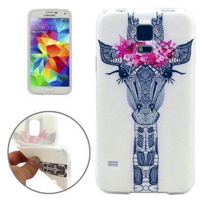 Ochranný kryt pre Samsung Galaxy S5 mini/G800- Giraffe