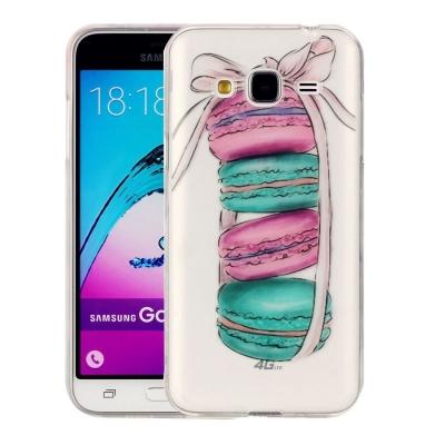 Ochranný plastový kryt na Samsung Galaxy J3 - 2016 - Macarons