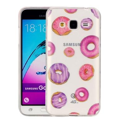 Ochranný plastový kryt na Samsung Galaxy J3 - 2016 - Doughnut