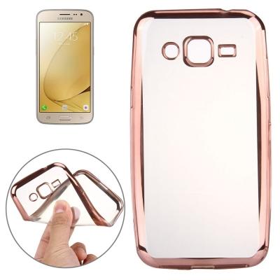 Ultra tenký kryt pre Samsung Galaxy J3 - 2016 - rose gold