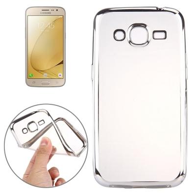 Ultra tenký kryt pre Samsung Galaxy J3 - 2016 -silver