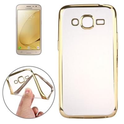 Ultra tenký kryt pre Samsung Galaxy J3 - 2016 - gold