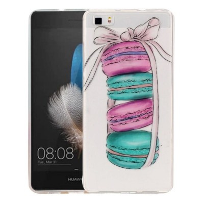 Ochranný plastový kryt pre Huawei P8 Lite - Macarons