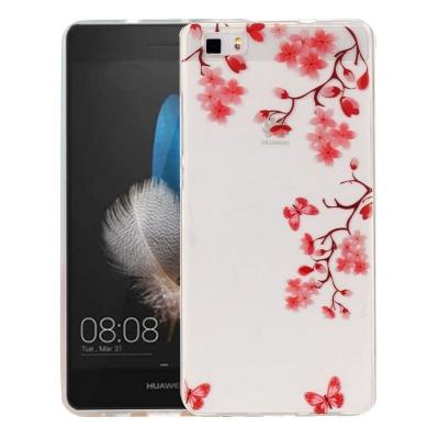 Ochranný plastový kryt pre Huawei P8 Lite - Maple Leaves