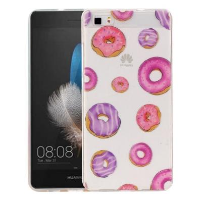 Ochranný plastový kryt pre Huawei P8 Lite - Doughnut Pattern