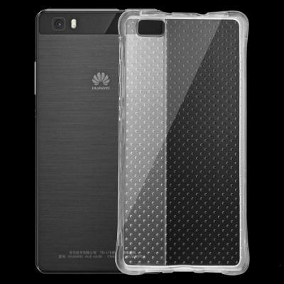 Ultra tenky spevnený kryt pre Huawei P8 Lite - transparent