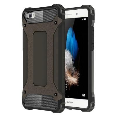 Ultra armor ochranný kryt pre Huawei P8 Lite - Coffee