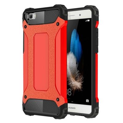 Ultra armor ochranný kryt pre Huawei P8 Lite - Red