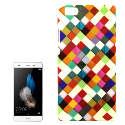 Ochranný plastový kryt pre Huawei P8 Lite - Colorful Grids