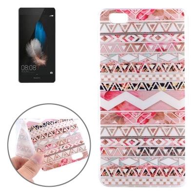 Ochranný flexi kryt pre Huawei P8 Lite - Flower Bud