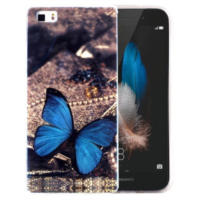 Ochranný plastový kryt pre Huawei P8 Lite - Butterfly