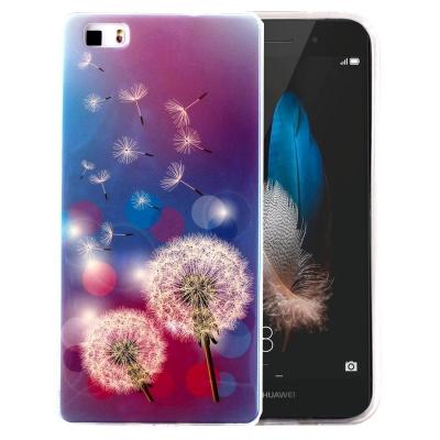 Ochranný plastový kryt pre Huawei P8 Lite - Dandelions Pattern