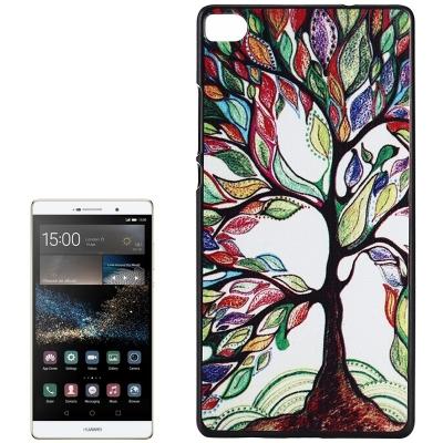 Ochranný plastový kryt na Huawei P8 - Abstract Tree