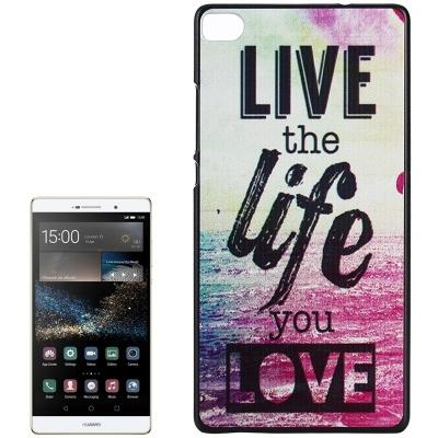 Ochranný plastový kryt na Huawei P8 - Life