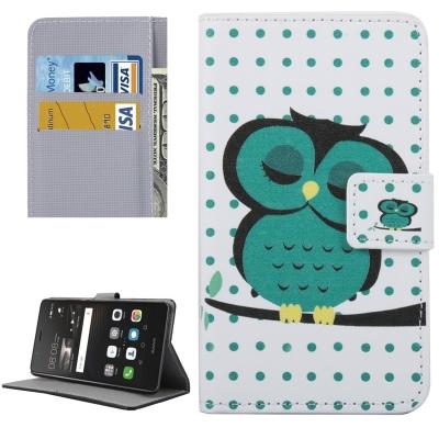 Diárové ochranné puzdro - Owl Pattern