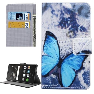 Diárové ochranné puzdro - Blue Butterfly