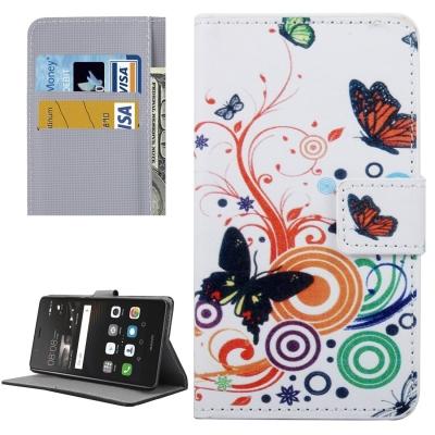 Diárové ochranné puzdro - White Butterfly
