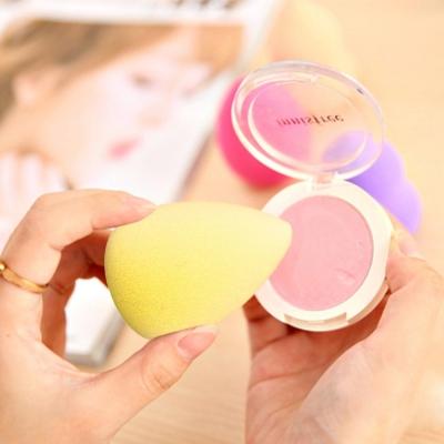 Make-up hubka v tvare kvapky - yelow