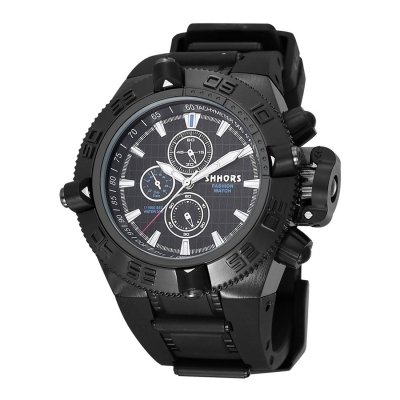 Pánske masívne hodinky S040 - black