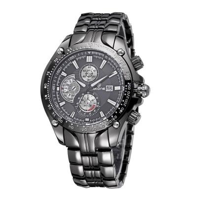 Luxusné pánske hodinky SKONE - black
