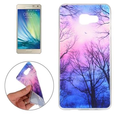 Ochranný flex kryt pre Samsung Galaxy A5 2016 - Trees and Clouds