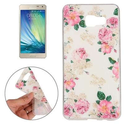 Ochranný flex kryt pre Samsung Galaxy A5 2016 - Flowers