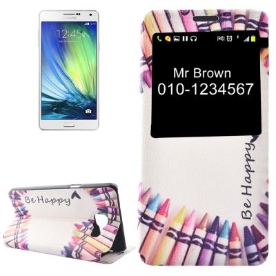Diárové puzdro pre Samsung Galaxy A5 2016 - Be happy color
