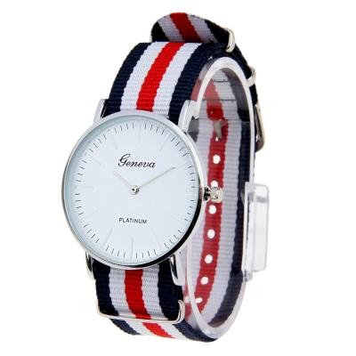 Unisex módne hodinky G010- red / white