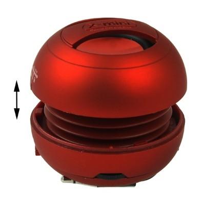 Výkonný mini reproduktor - red