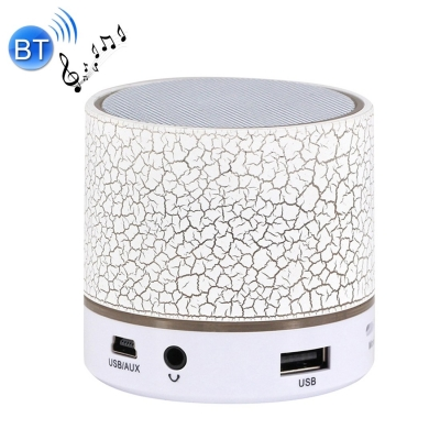 Bluetooth LED mini reproduktor - white
