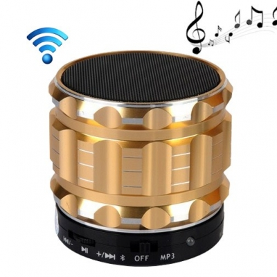Bluetoothi mini reproduktor - gold