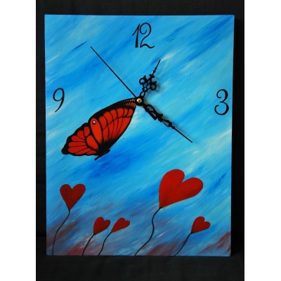 Ručne maľované originálne hodiny Le Petit Prince