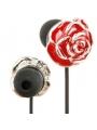 Slúchadlá diamanty - red roses
