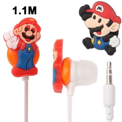 Slúchadlá Super Mario + držiak