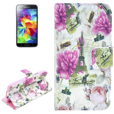 Kožené púzdro pre Samsung Galaxy S5mini- Owls in Love